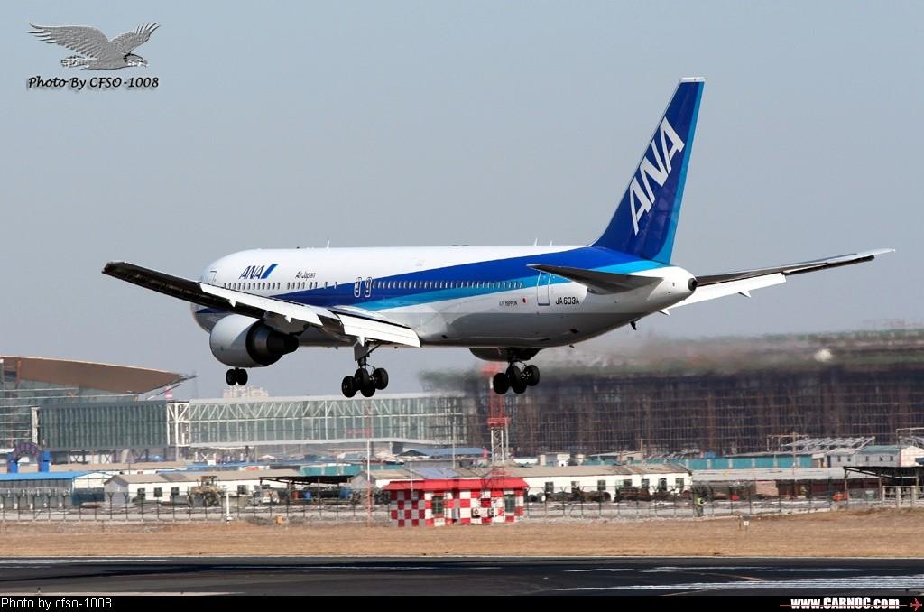 Re:[原创]东跑道屋顶位置拍降落 BOEING 767-300 JA603A