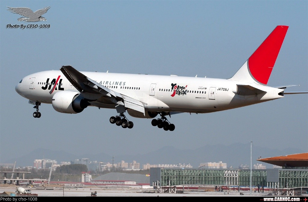 Re:[原创]东跑道屋顶位置拍降落 BOEING 777-200 JA709J