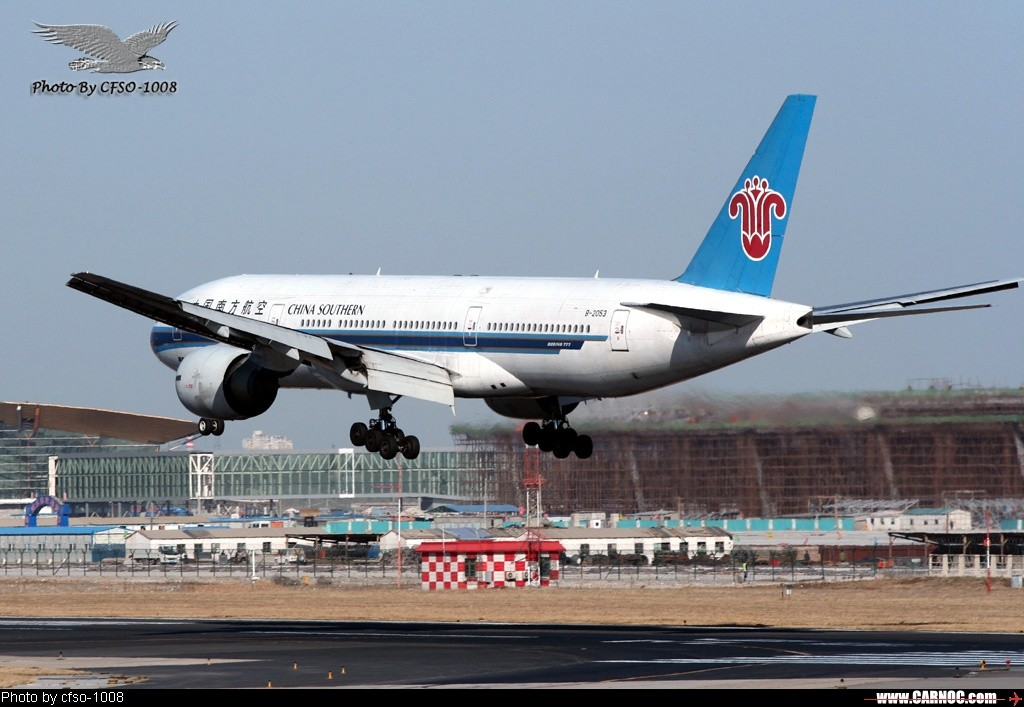 Re:东跑道屋顶位置拍降落 BOEING 777-200 B-2053