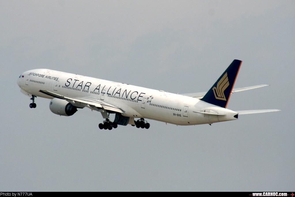 Re:[原创]星空联盟--欢迎大家跟帖 BOEING 777-300 9V-SYE  Taiwan TAIPEI SHEK