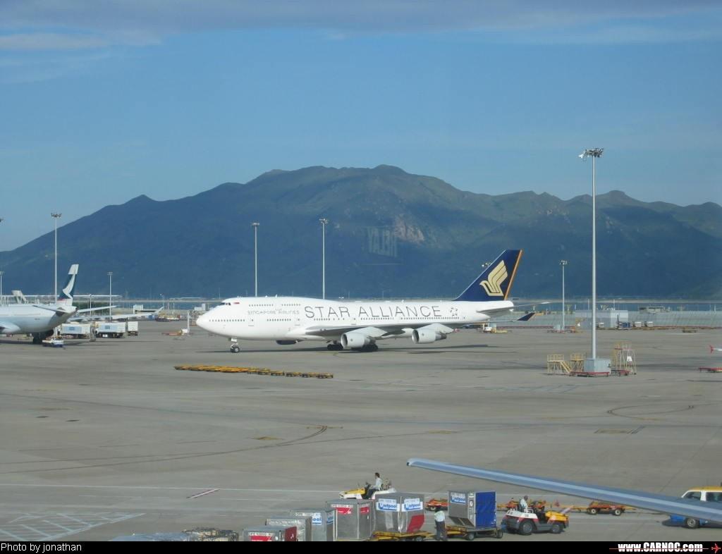 Re:[原创]星空联盟--欢迎大家跟帖 BOEING 747-400   中国香港赤喇角机场