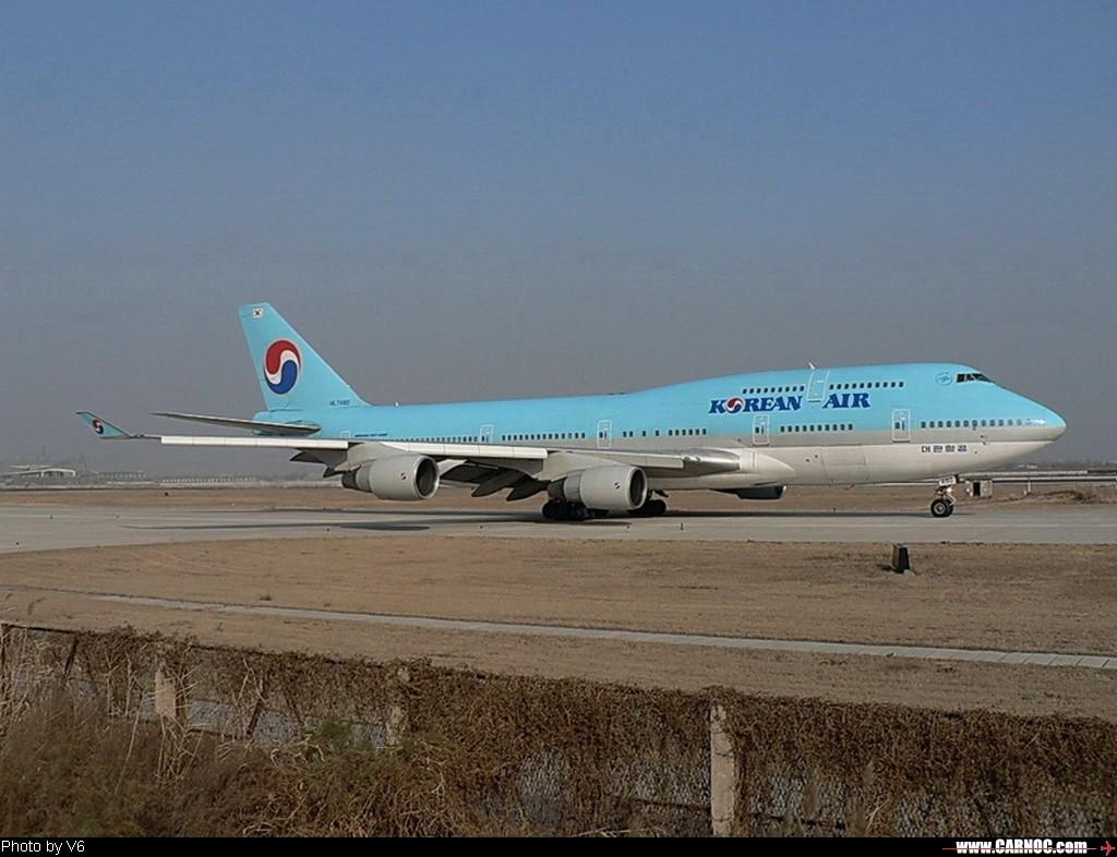 Re:[原创]处女曝…… BOEING 747-400   中国天津滨海机场