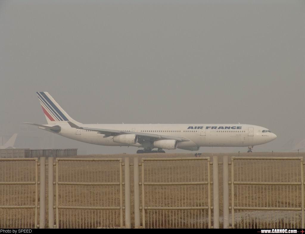 应该是飞北京换机型最多的航空公司了吧 AIRBUS A340-300 F-GNIG