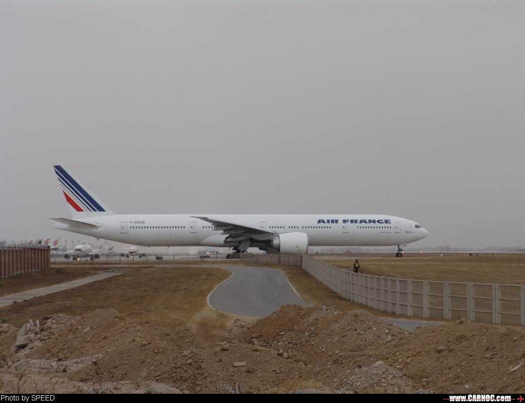 Re:应该是飞北京换机型最多的航空公司了吧 BOEING 777-300 F-GSQB