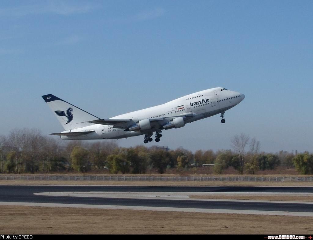 Re:[原创]……首次从这个角度拍到小飞驴首都机场进近和着陆…… BOEING 747-SP EP-IAD