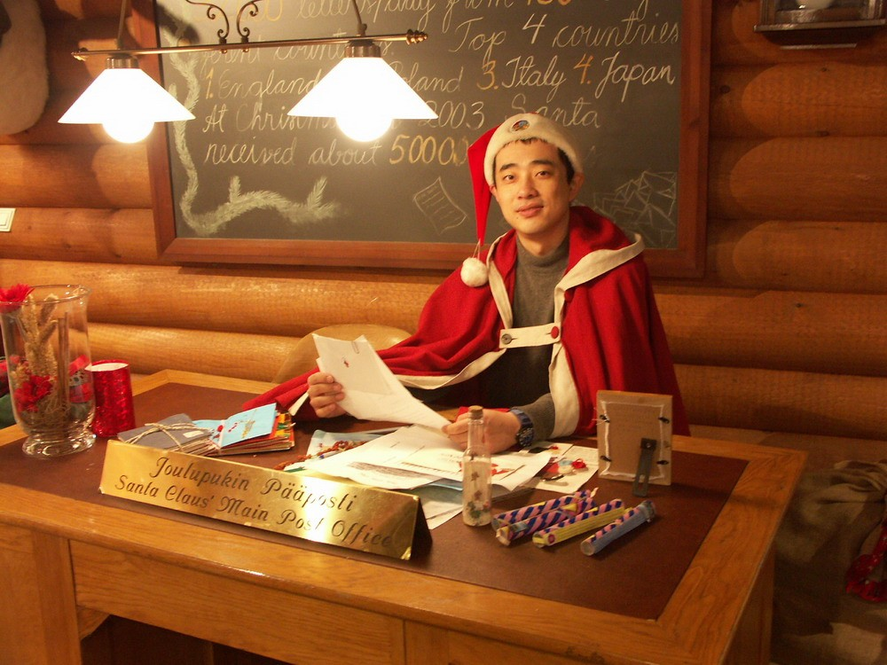 Re:[原创]早早的圣诞老人就来到了北京。