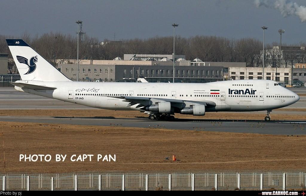 Re:[原创]……首次从这个角度拍到小飞驴首都机场进近和着陆…… BOEING 747-200 EP-IAG  中国北京首都机场