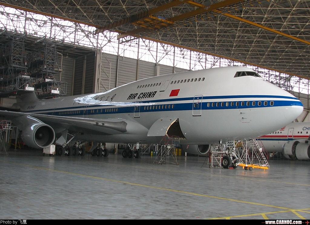 ~*~~*~焕然一新的 >\;>\;>\; 2443 ~*~~*~ BOEING 747-400 B-2443