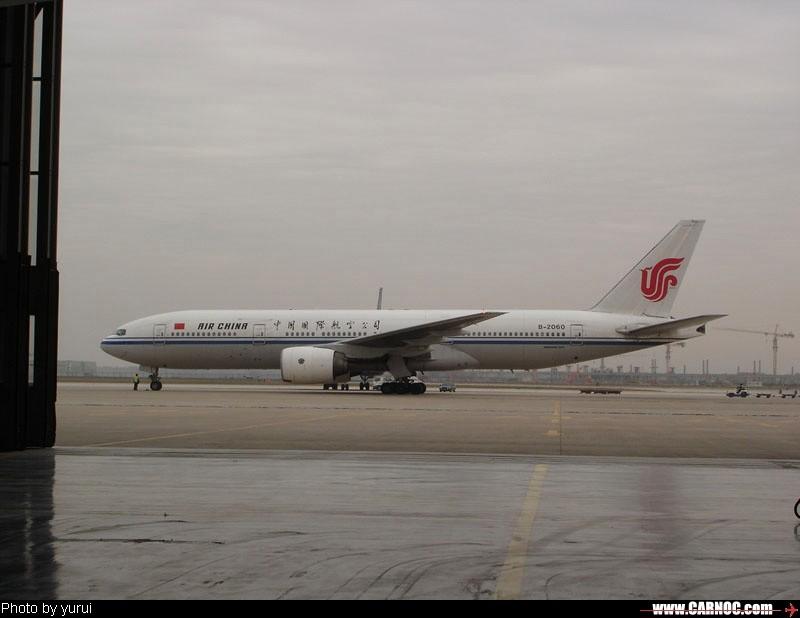 Re:[原创]一百天的努力现在升到777啦,祝贺祝贺自己(看贴者送一架,回贴者送二架) BOEING 777-200 B-2060