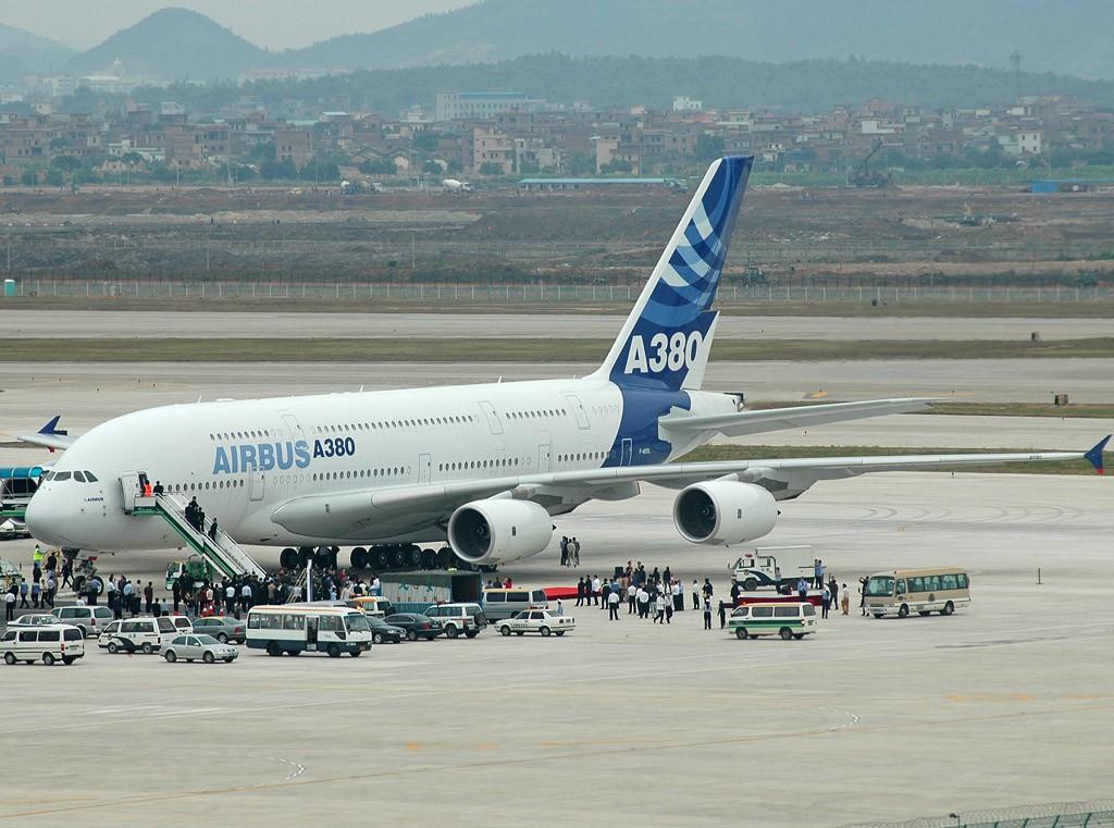 发几张A380的图片