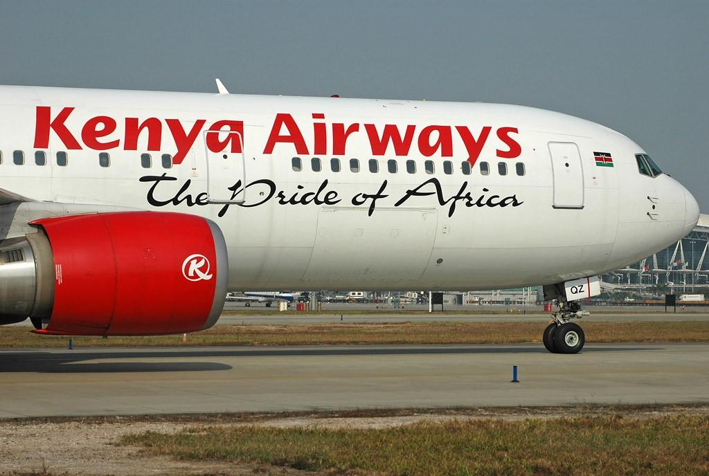 [原创]肯尼亚航空-The pride of Africa BOEING 767-36NER 5Y-KQZ 中国广州白云机场