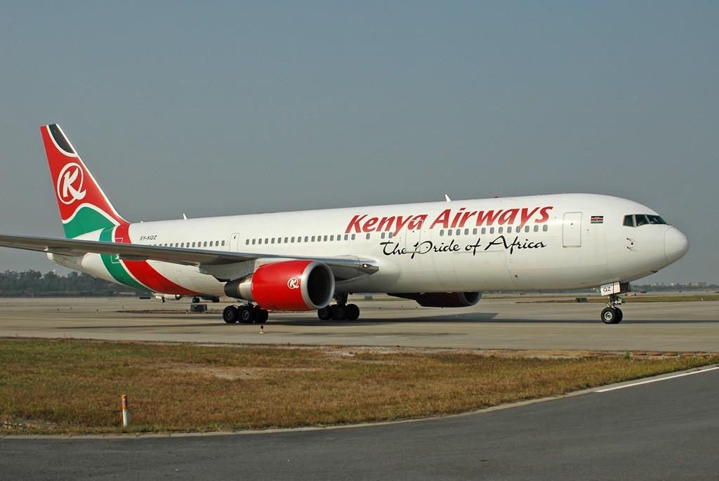 Re:[原创]肯尼亚航空-The pride of Africa BOEING 767-36NER 5Y-KQZ 中国广州白云机场