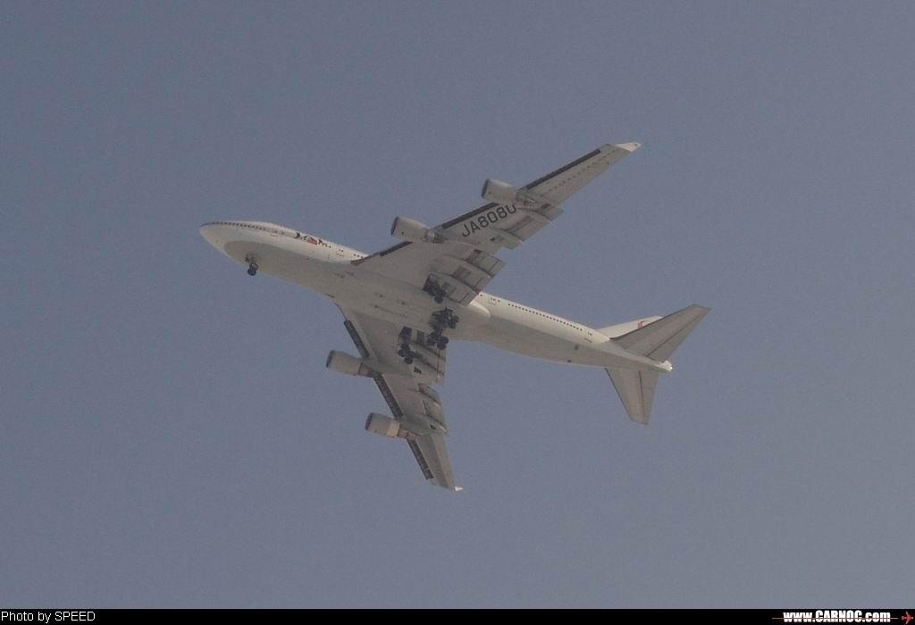 Re:元月1日北京东跑道上发生两件诧异的事, BOEING 747-400