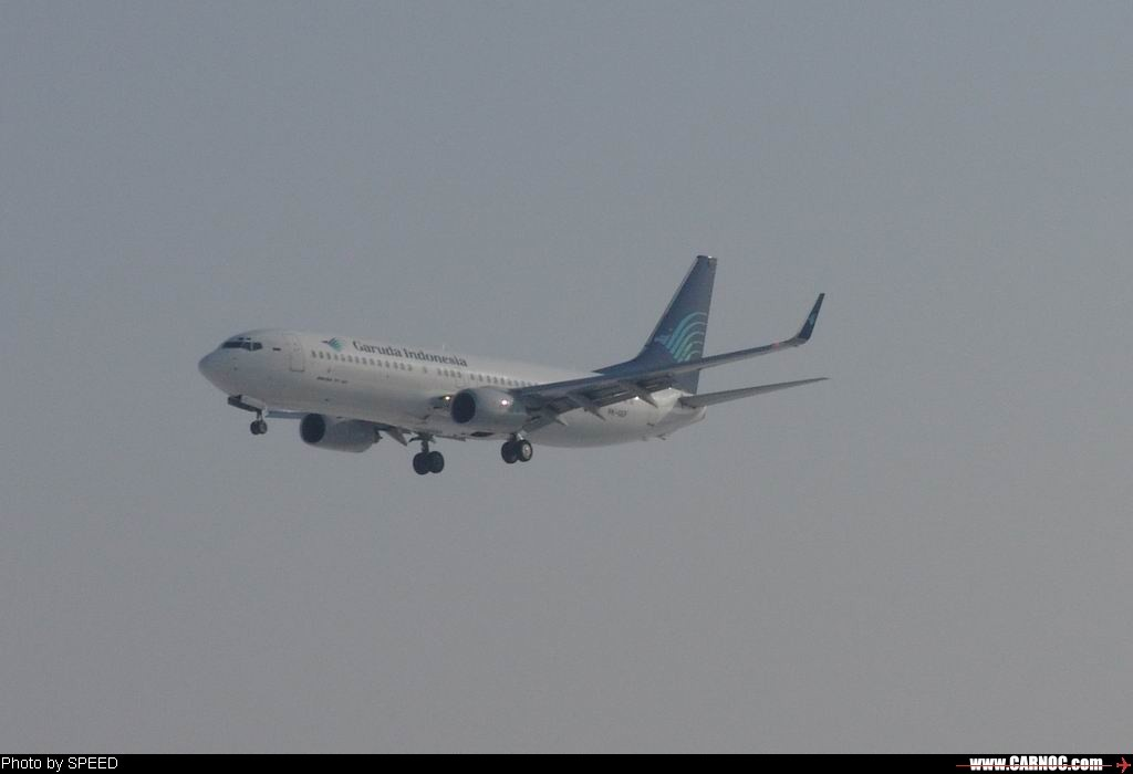 终于看见印尼的小飞机了 BOEING 737-800