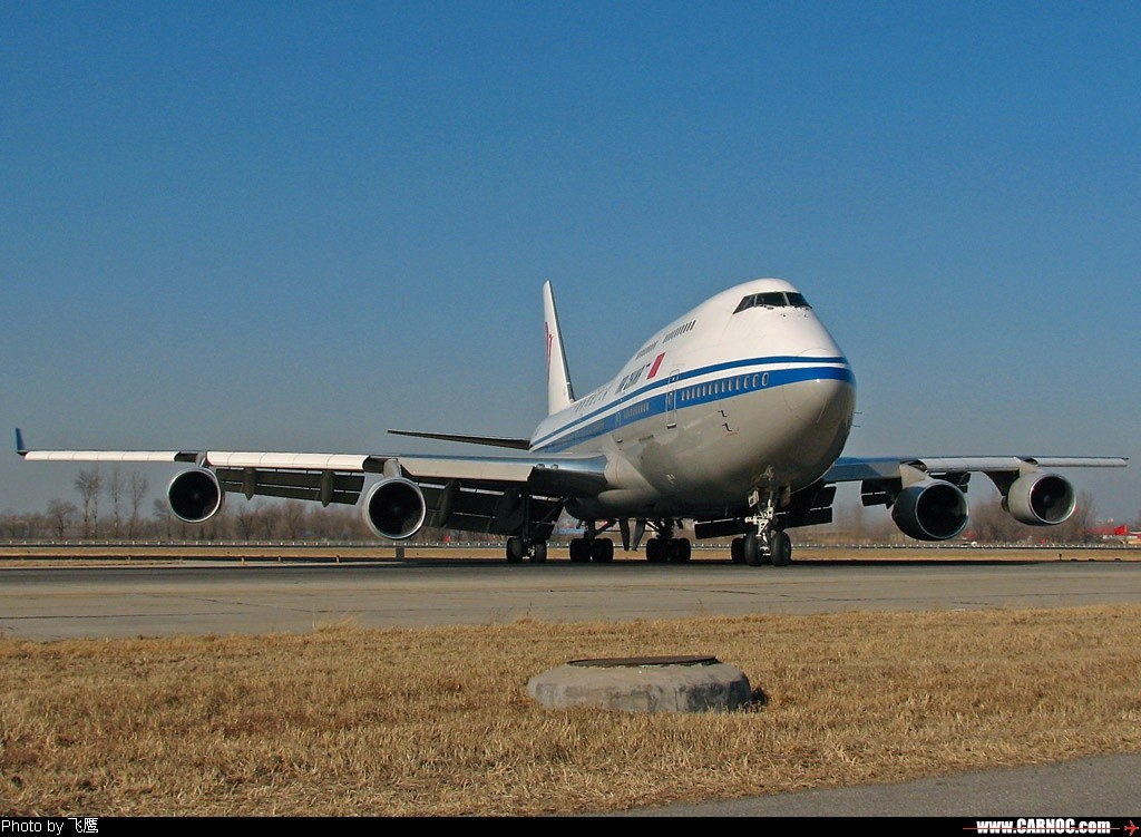 [原创]~~~~没有左小翼的2447 ----照样能飞远程国际航班 >>> 上午从法兰克福归航 !!!! BOEING 747-400 B-2447