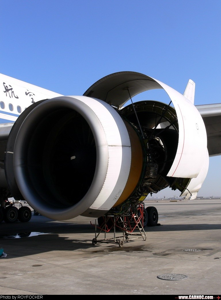 Re:[原创]波音777发动机>>>>>>>最大的碎尸机<<<<<<<2059的一次鸟击 BOEING 777-200 B-2059