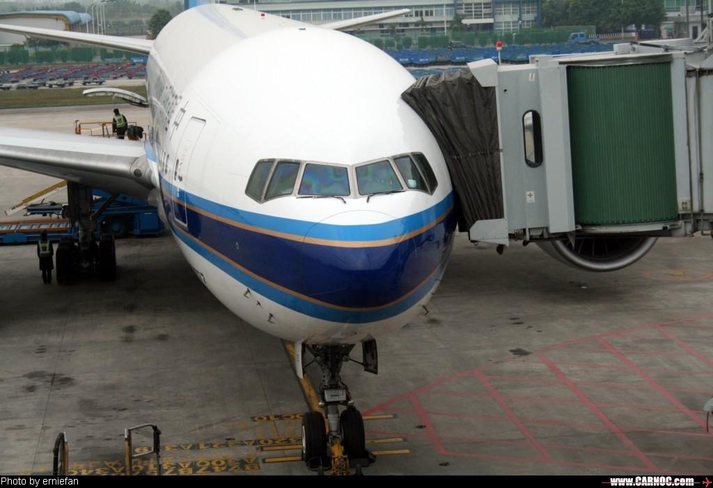 Re:深圳—上海—深圳游记(含磁悬浮列车) BOEING 777 B-2053