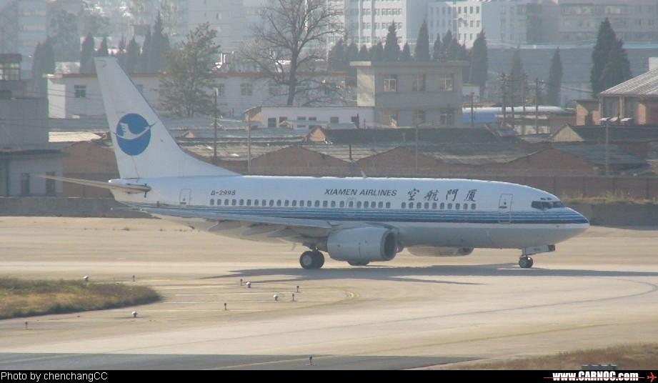 Re:[原创]厦门航空在KMG BOEING 737-700 2998