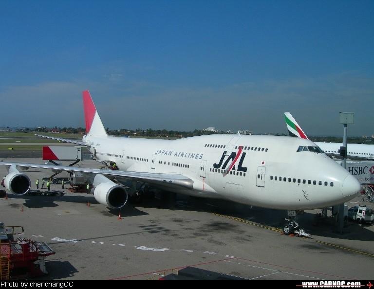 [原创]在澳大利亚拍到小日本的飞机 BOEING 747-400
