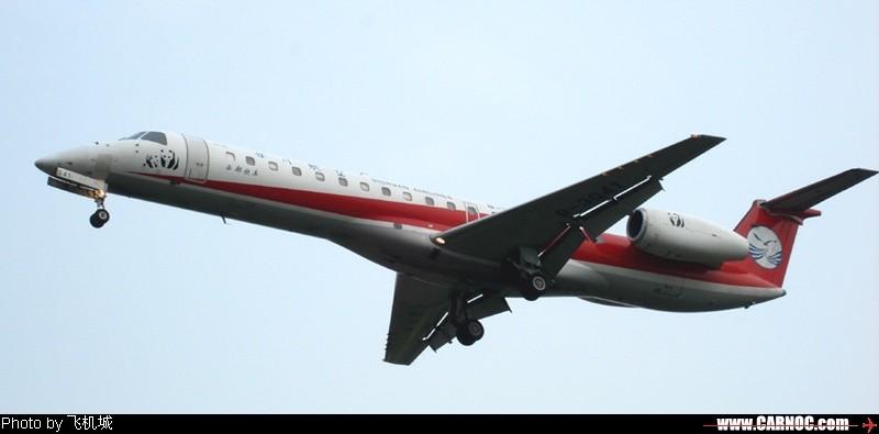 Re:[原创]各种各样的飞机, 小卡片机尝试新角度 EMBRAER ERJ-145 B-3042  中国成都双流机场