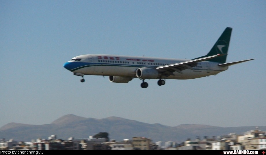 [原创]准备降落KMG    中国成都双流机场