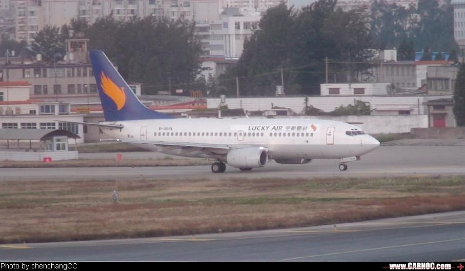 [原创]昆明机场清晨作业 BOEING 737-300