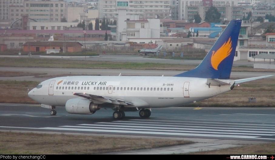 Re:[原创]昆明机场清晨作业 BOEING 737-300