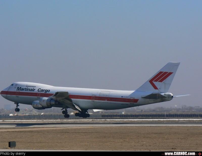 Re:[原创]Martinair Cargo747    中国天津滨海机场