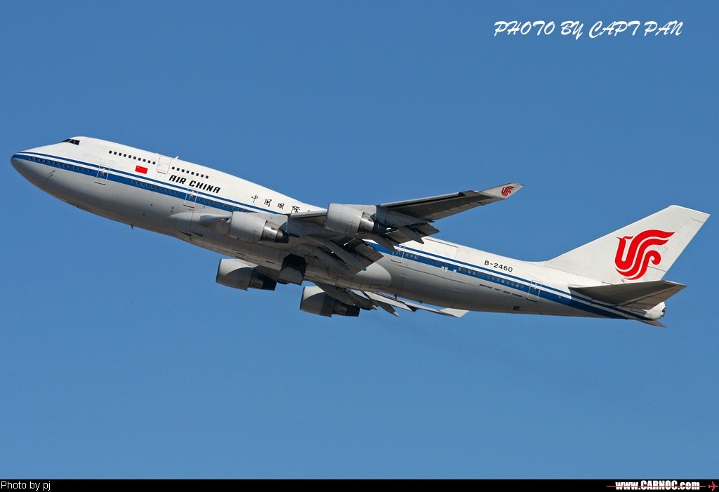 Re:[原创]……国航B747专集…… BOEING 747-400 B-2460  中国北京首都机场