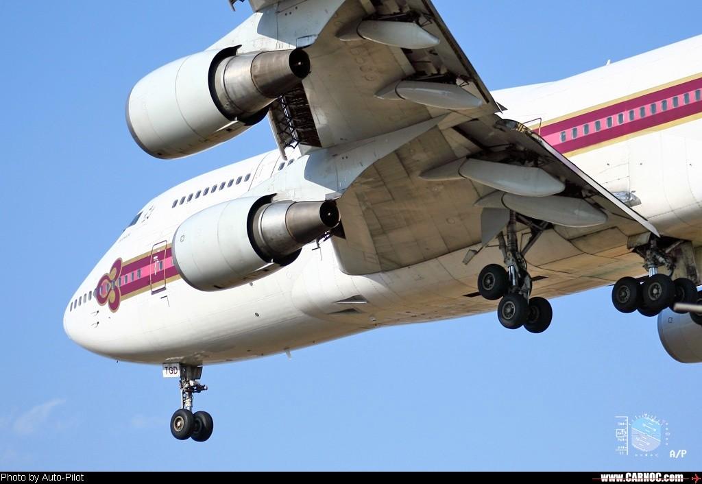 [原创]换了单反升了级,拍了747玩命发!不贺不行!…… BOEING 747-300 HS-TGD