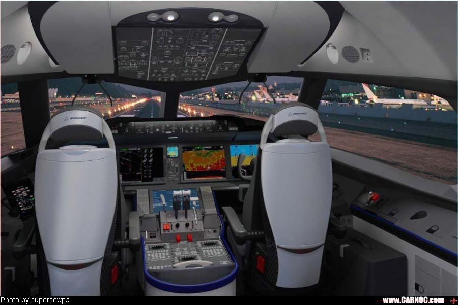 [转贴]波音787驾驶舱