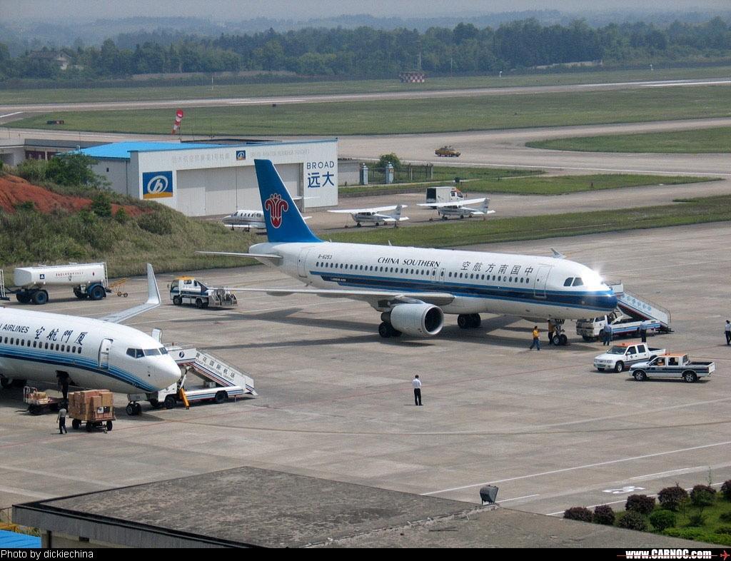AIRBUS A320 200 B 6253 空客和波音在长沙比 靓