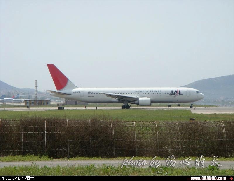 Re:忙了一个星期,终于有时间把一周前的DLC照片传上来了! B767-300 JA8976 中国大连周水子机场