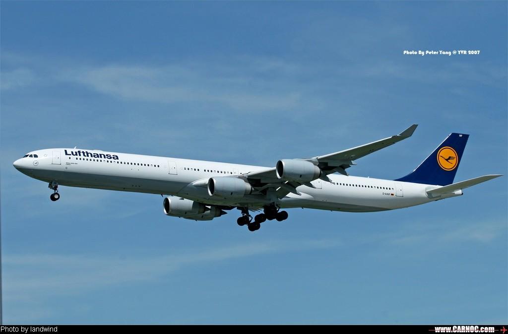 Re:她们的好身材令好多MM自叹不如啊 AIRBUS A340-600 D-AIHF Canada VANCOUVER INTL