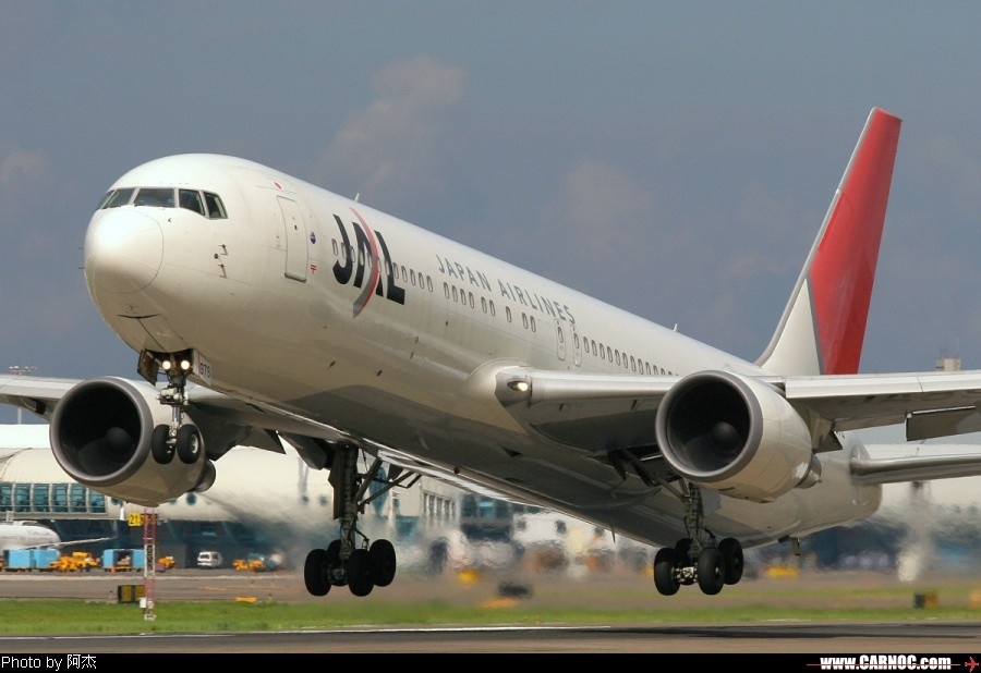 一堆亂七八糟的圖! BOEING 767-346 JA8976 臺灣高雄小港機場