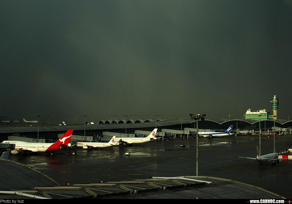 Re:[原创]最近拍的 BOEING 747-400 VH-OJR 中国香港赤喇角机场 中国香港赤喇角机场