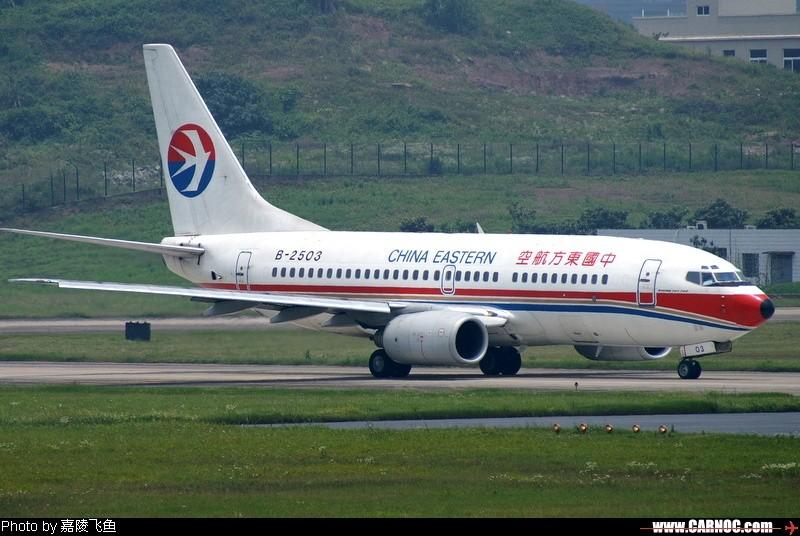 东方燕,曾经的孔雀2503 BOEING 737-700 B-2503 中国重庆江北机场