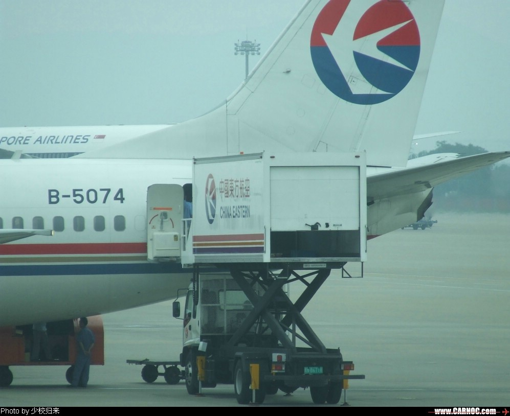 Re:[原创]禄口,10周年纪念,预热。 BOEING 737-700 B-5074 中国南京禄口机场