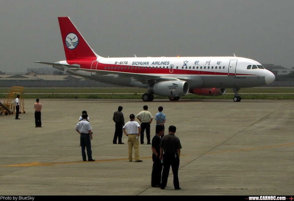 Re:[原创][CASG]欢迎3架空客319加盟川航<---正式帖,請貼完再回覆謝謝! AIRBUS A319 B-6176 CTU