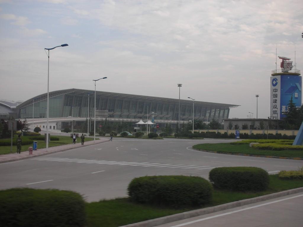 Re:[原创]机场的候机地带---航站楼—国内(欢迎大家跟帖)    中国西安咸阳机场