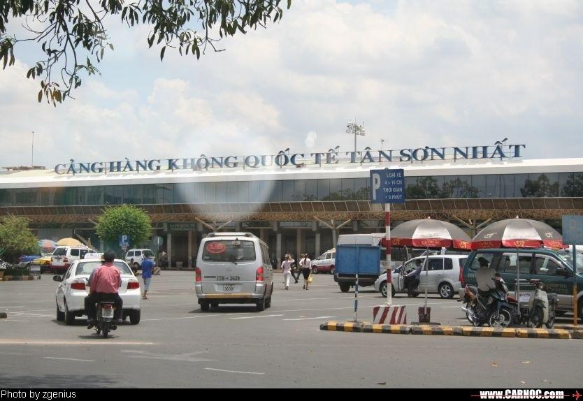 胡志明市机场的航站楼