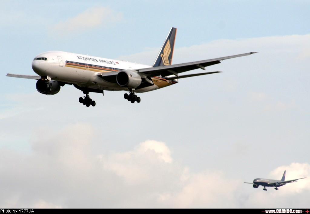 Re:[原创]一百天的努力现在升到777啦,祝贺祝贺自己(看贴者送一架,回贴者送二架) BOEING -BOEING 777-200ER 9V-SRC 台灣桃園