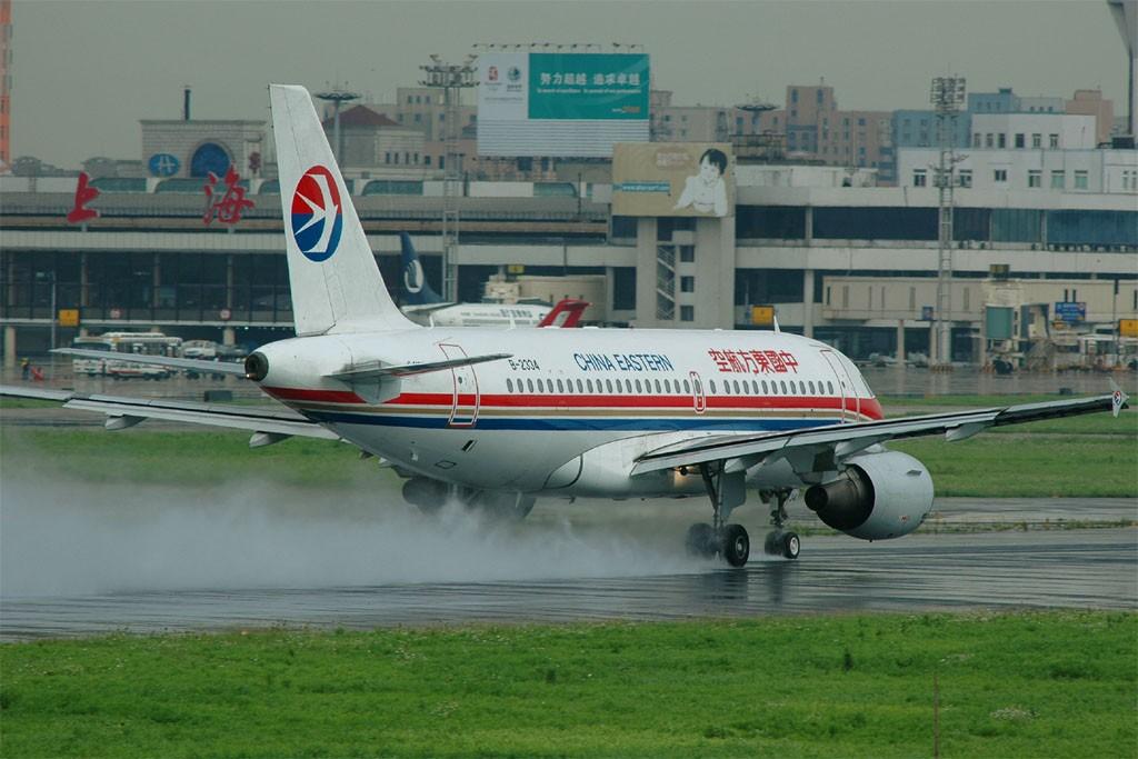 [原创]小规模吹水 AIRBUS A319-100 B-2334 中国上海虹桥机场