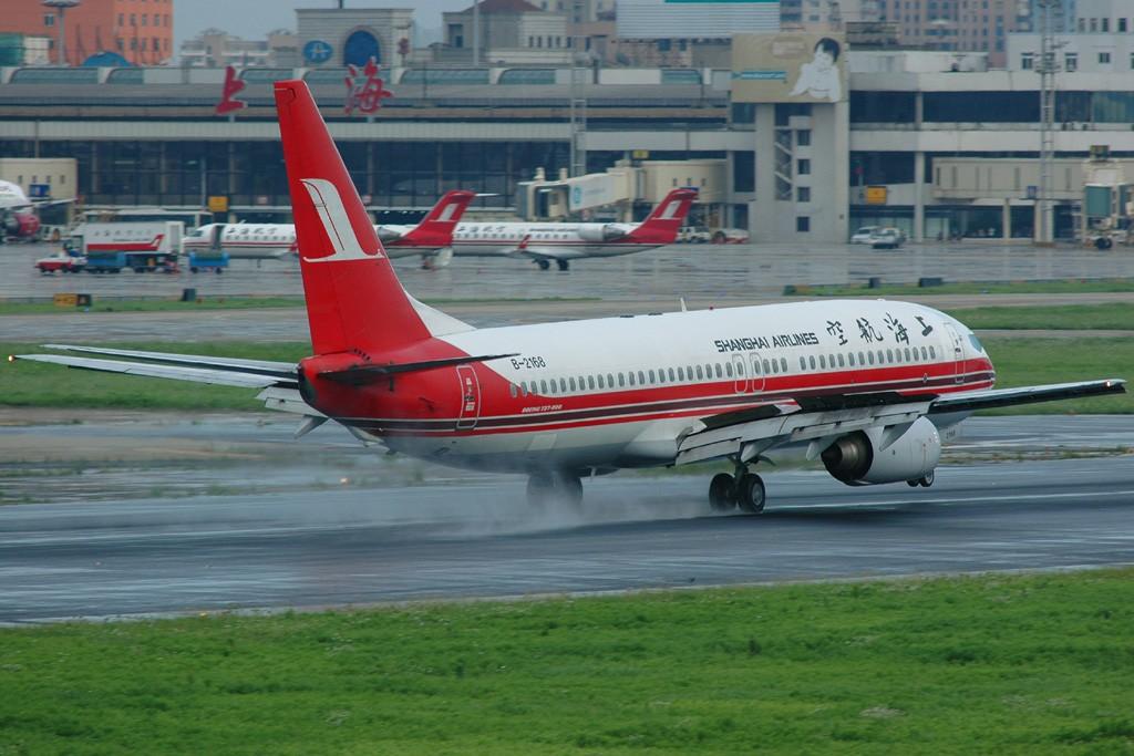 Re:[原创]小规模吹水 BOEING 737-800 B-2168 中国上海虹桥机场