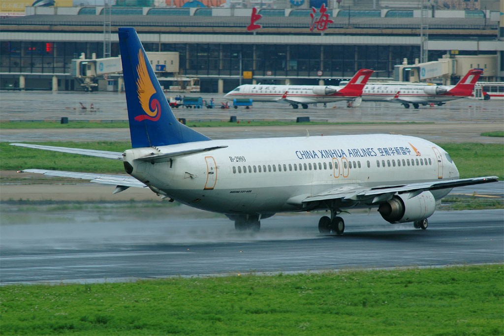 Re:[原创]小规模吹水 BOEING 737-400 B-2993 中国上海虹桥机场
