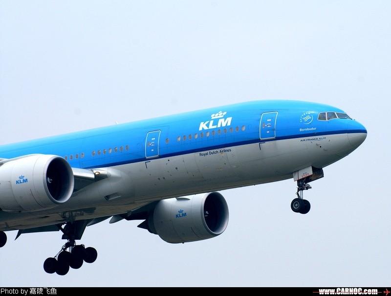 Re:[原创]一百天的努力现在升到777啦,祝贺祝贺自己(看贴者送一架,回贴者送二架) B777 PH-BQB 中国成都双流机场