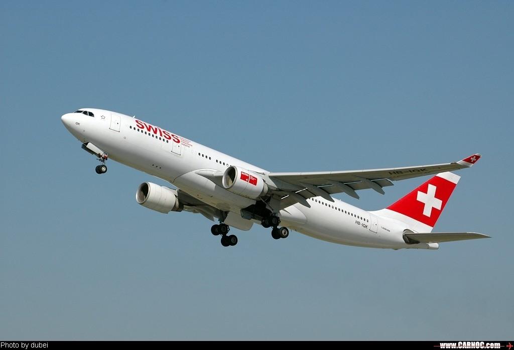 Re:[原创]苏黎世,7.14 (16 PICs) 天气好,内有VP机 A332 HB-IQK Switzerland ZURICH