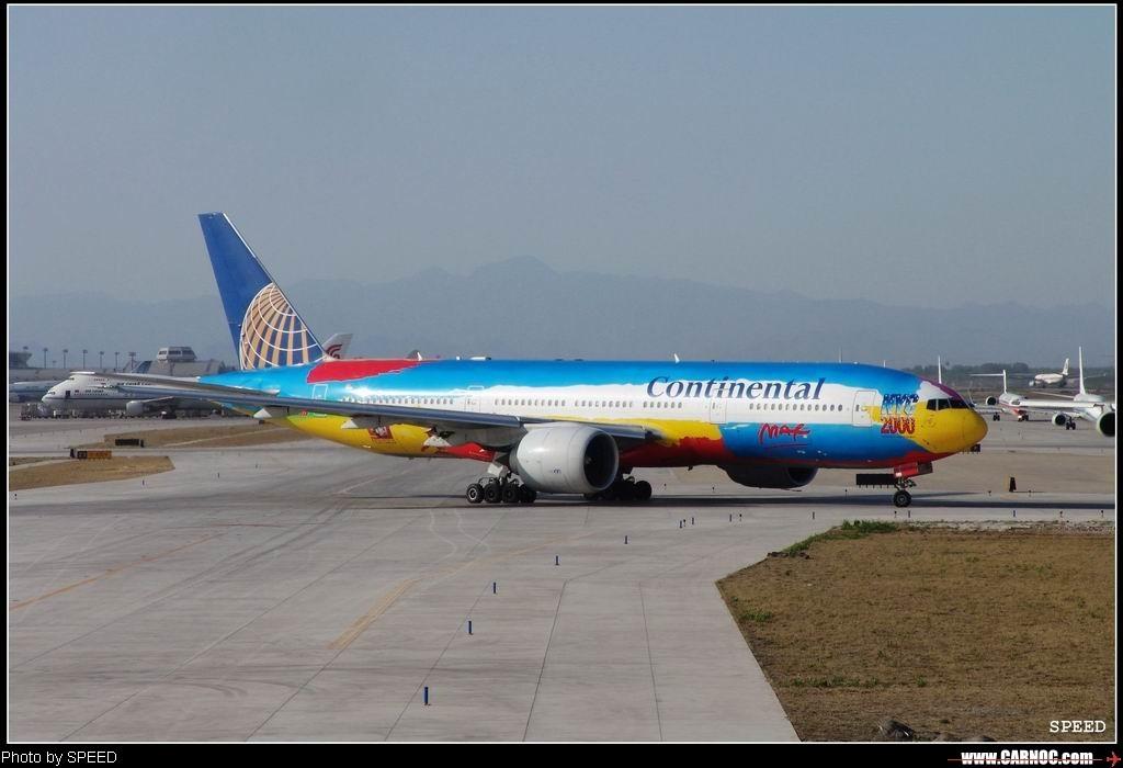 Re:[原创]较早前在北京拍的几张图--有我最喜欢的国航757大头    中国北京首都机场
