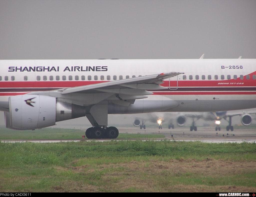 "Re:[原创]从""红灯区""开始贴 BOEING 757-200 B-2858 中国成都双流机场"