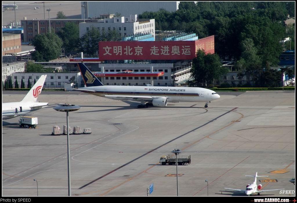 Re:有时间没发新航的777了。    中国北京首都机场